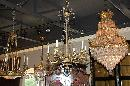 French Beaded Crystal Chandelier