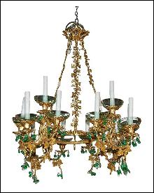 Ornate French Chandelier