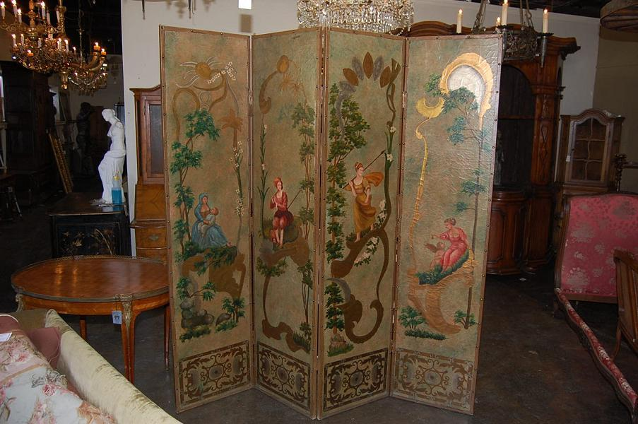 Continental 4 Panel Screen
