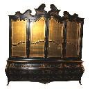 Chinoiserie Breakfront Cabinet