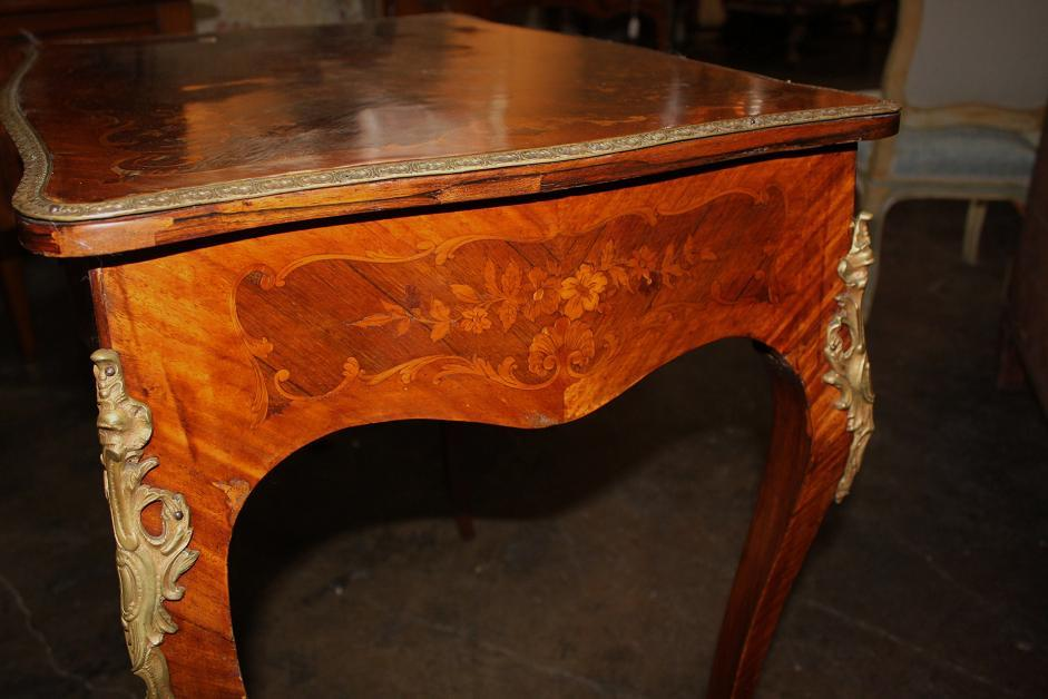 French Marquetry Table