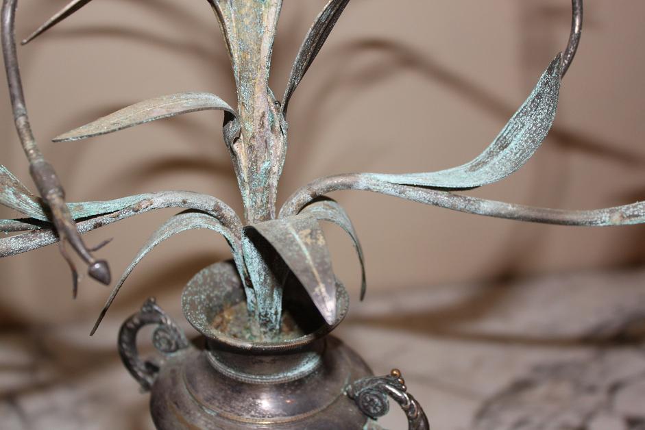 Pair Silver Candelabra