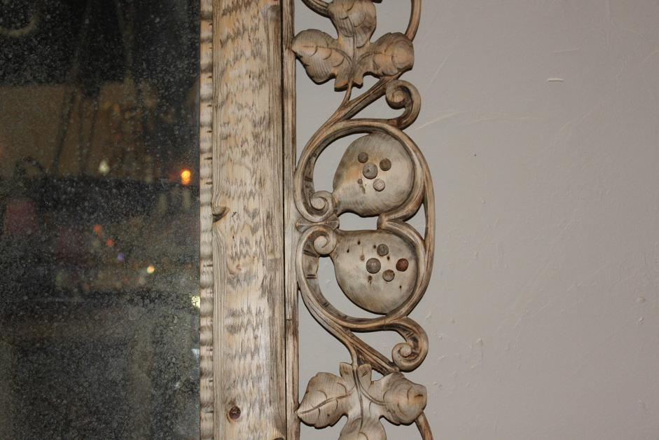 Swiss Carved Mirror