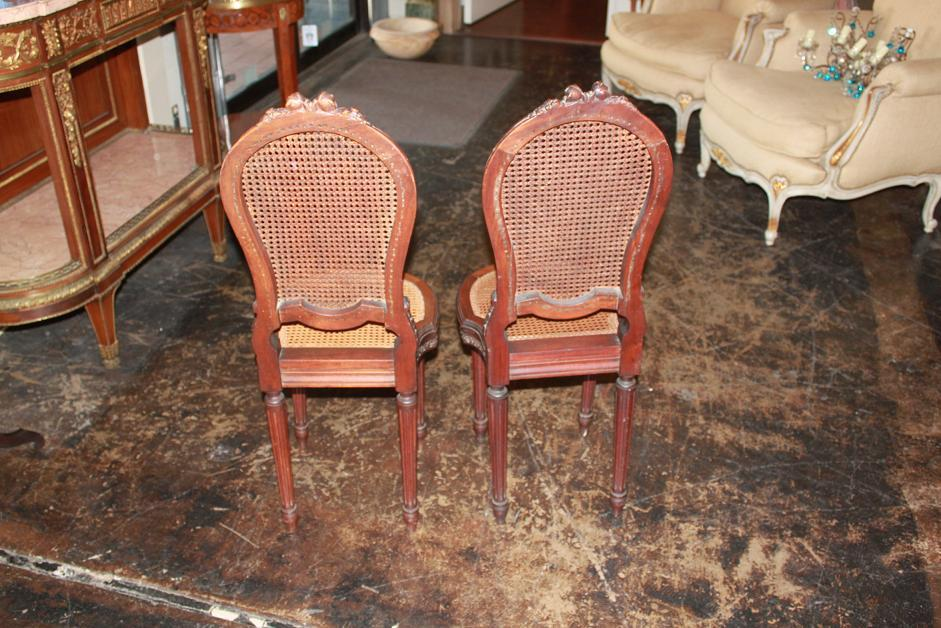 Petite Pair Side Chairs
