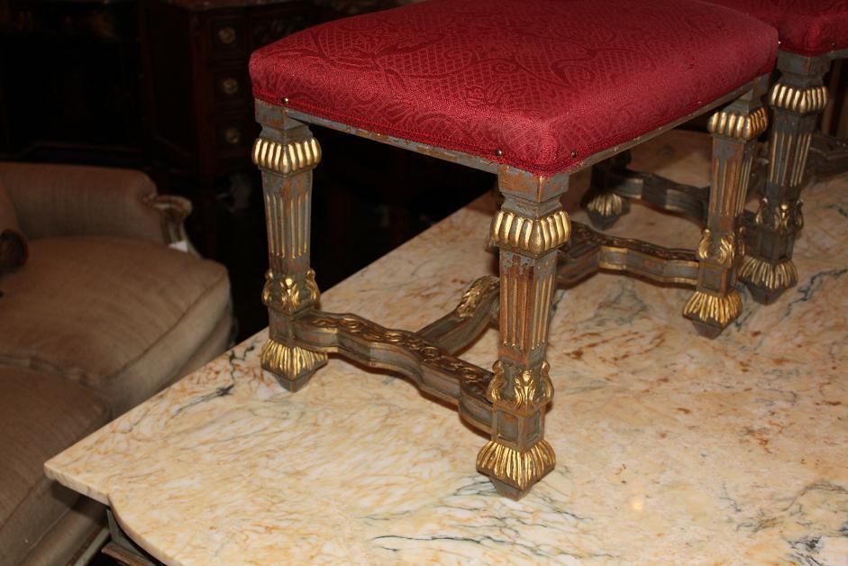 Pair Italian Benches