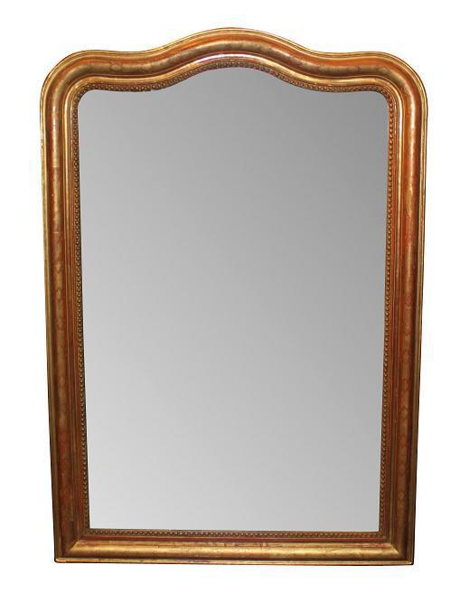 Louis Philippe Arched Top Mirror