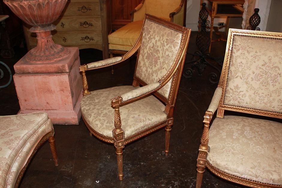 Pair Louis XVI Chairs