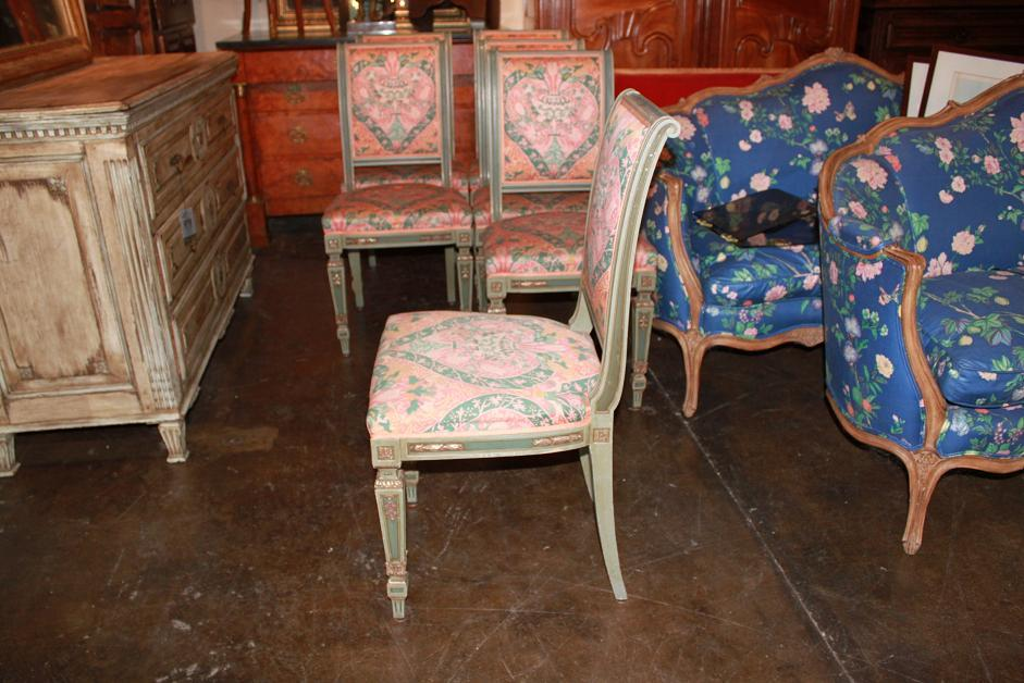 Set of 6 Italian Side Chairs