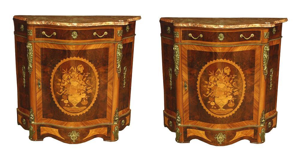 Pair French Style Servers