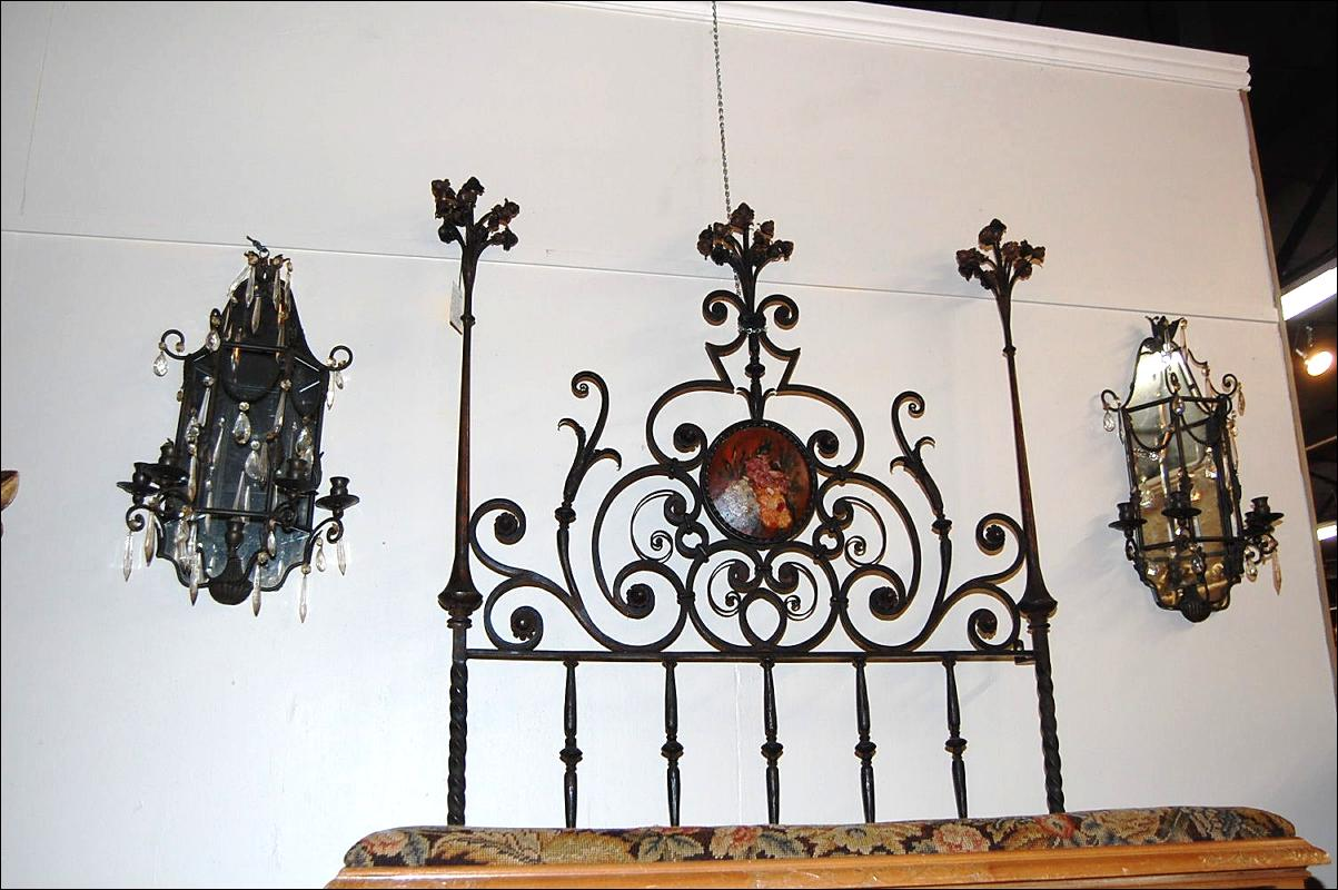 Pair Mirrored Sconces