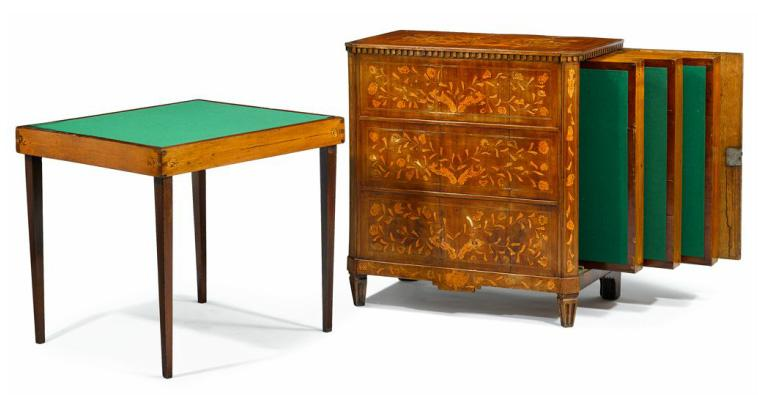 Fine Set of French Games Tables