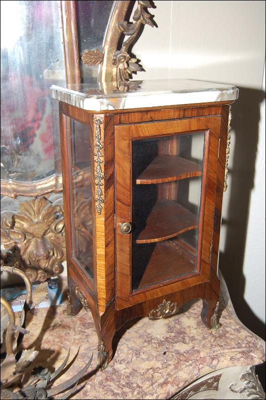 French Jewelry Cabinet