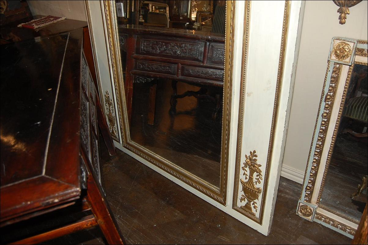 Large Louis XVI Trumeau Mirror