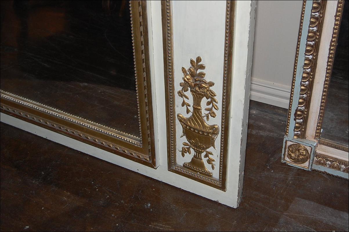 Large Louis XVI Trumeau Mirror