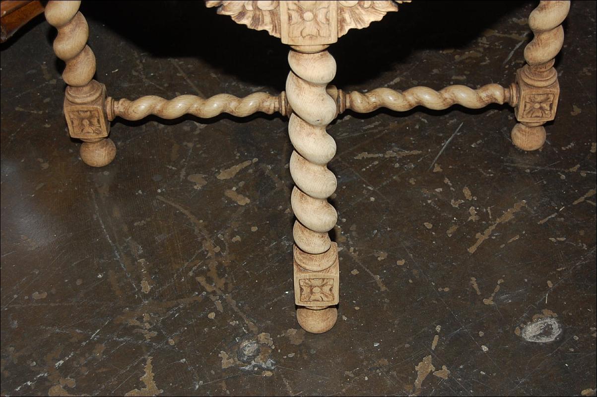 Bleached Henri II Table