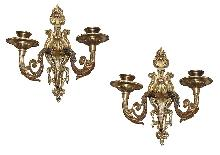 French Bronze Sconces