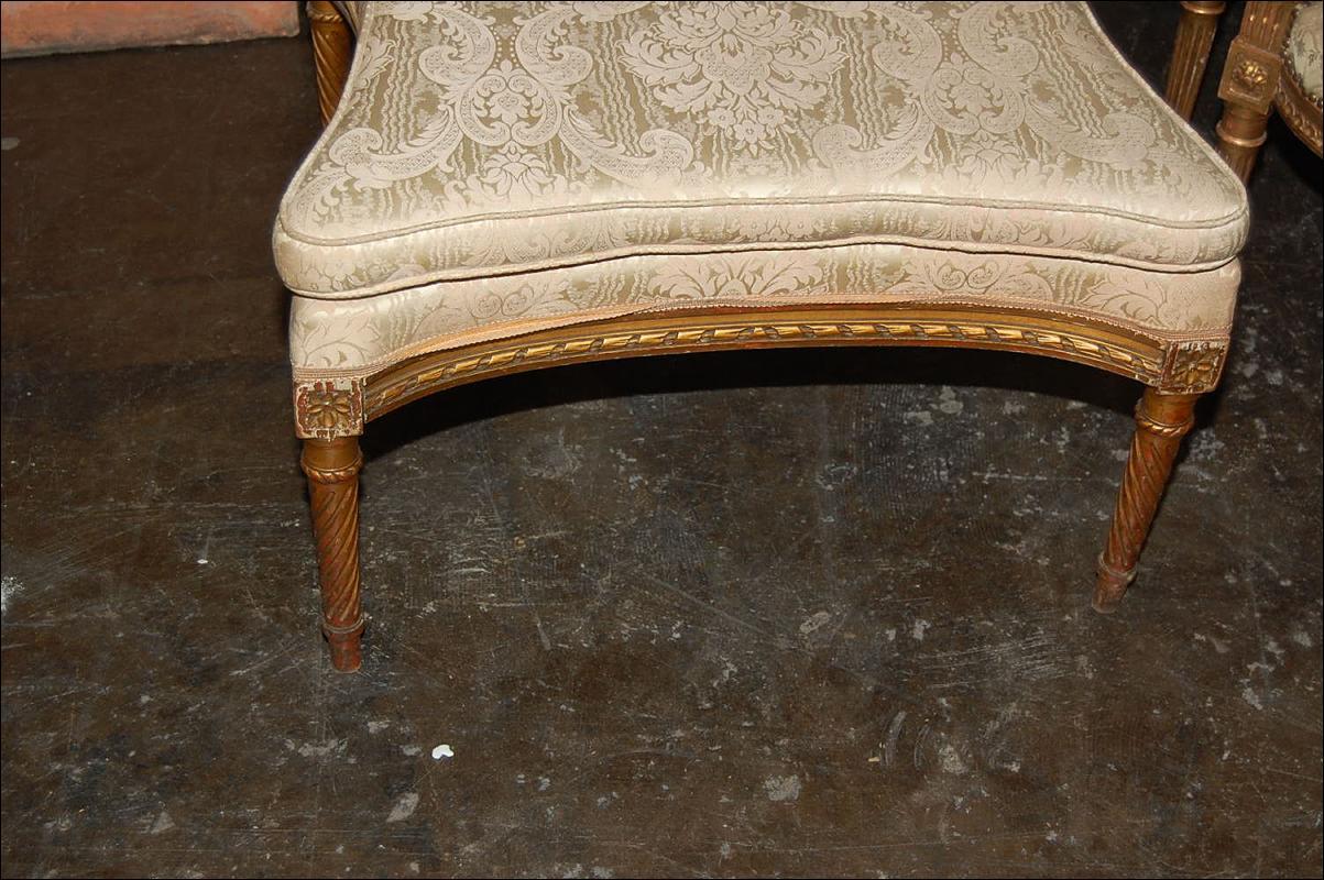 French Louis XVI Bench