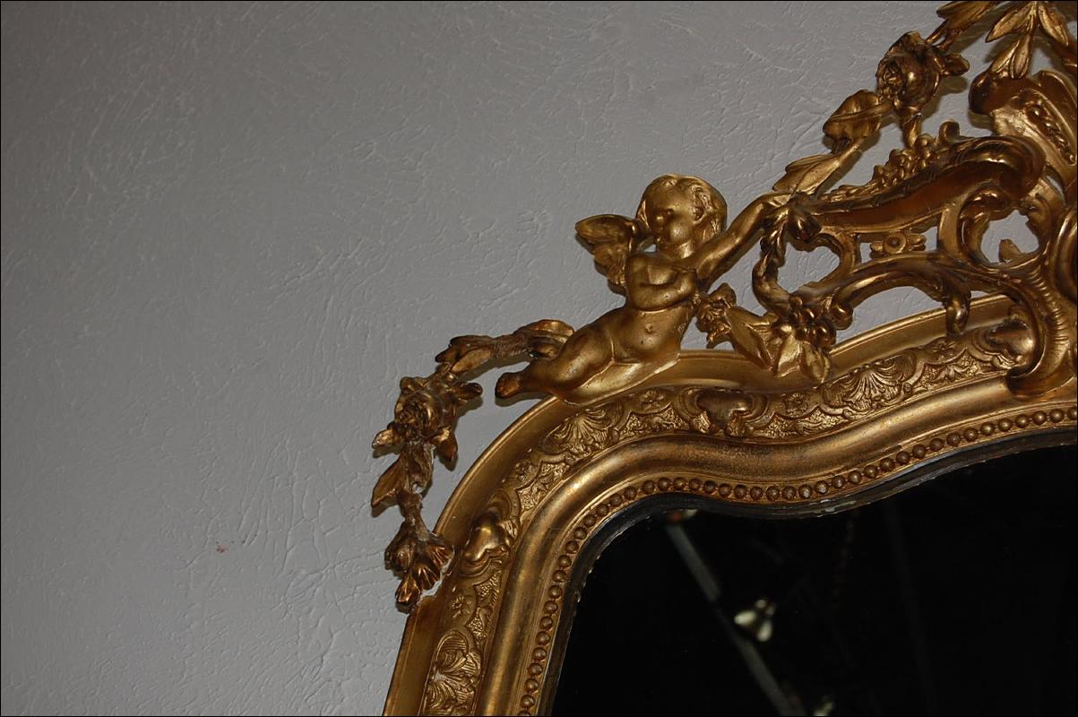 French Louis XV Mirror