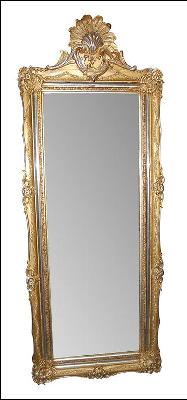 Fabulous French Antique Mirror