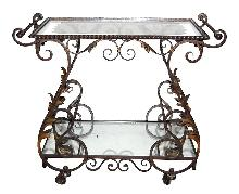 French Iron Tea Cart