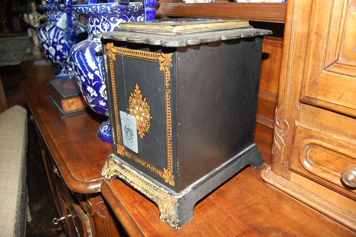 Antique Inlaid Sewing Box