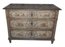 Neo-Classical Painted Commode