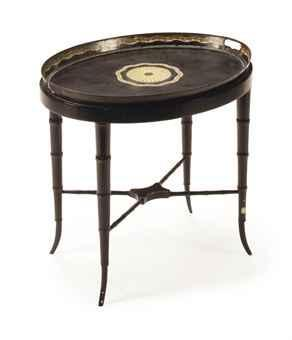 Victorian Tole Painted Stand