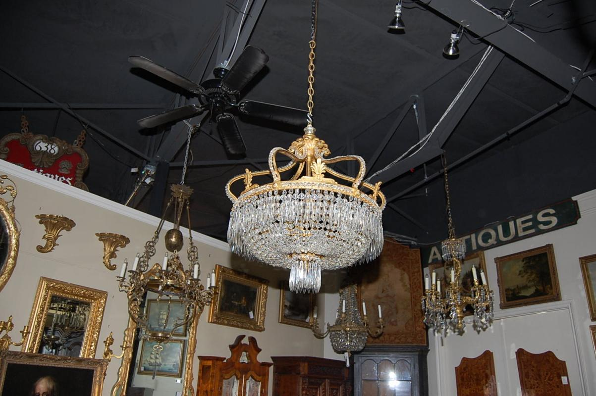 Fabulous French Crystal Chandelier