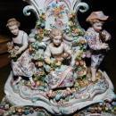 Late 19th Century German Porcelain Clock