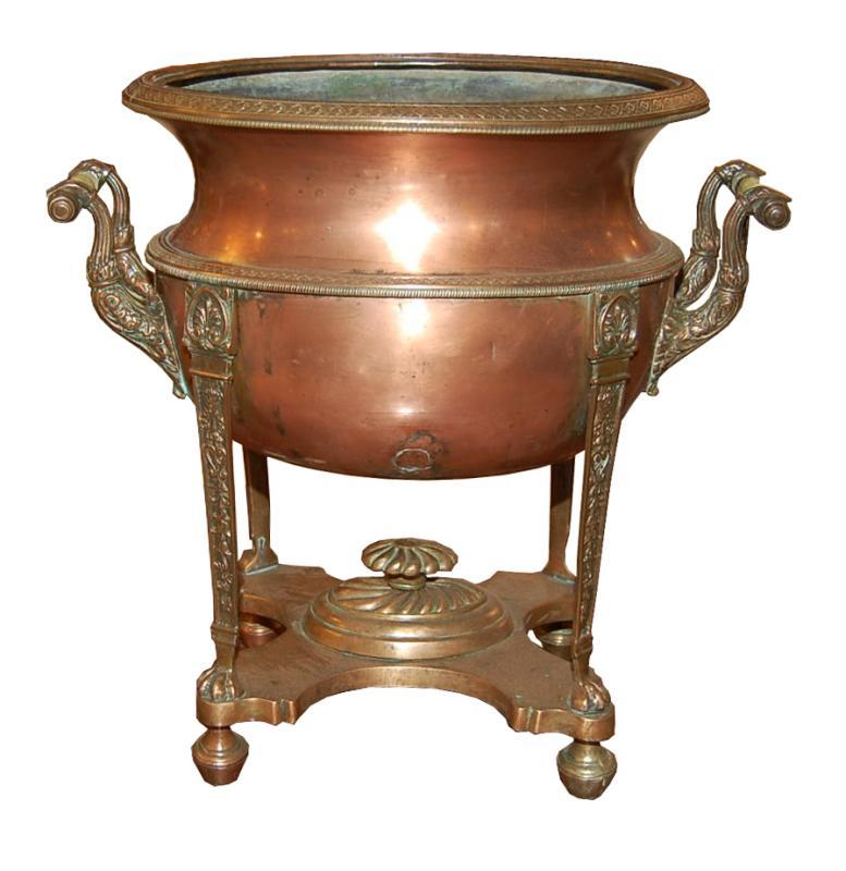 Antique Copper Champagne Bucket