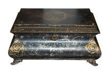 Charming Antique Tole Box