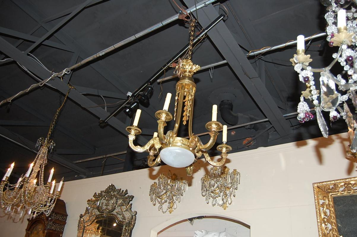 French Bronze Chandelier
