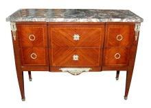 French Transitional Commode