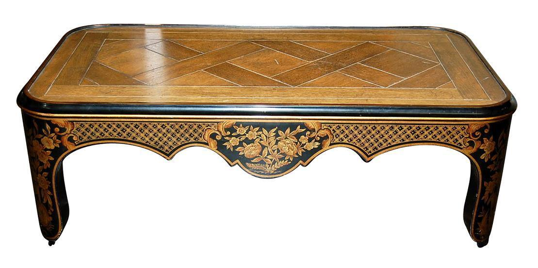 Decorative Painted Coffee Table