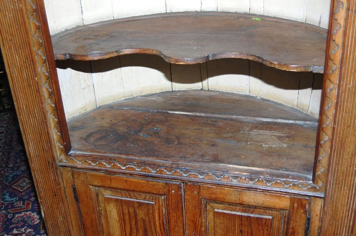 18th Century Corner Cabinet
