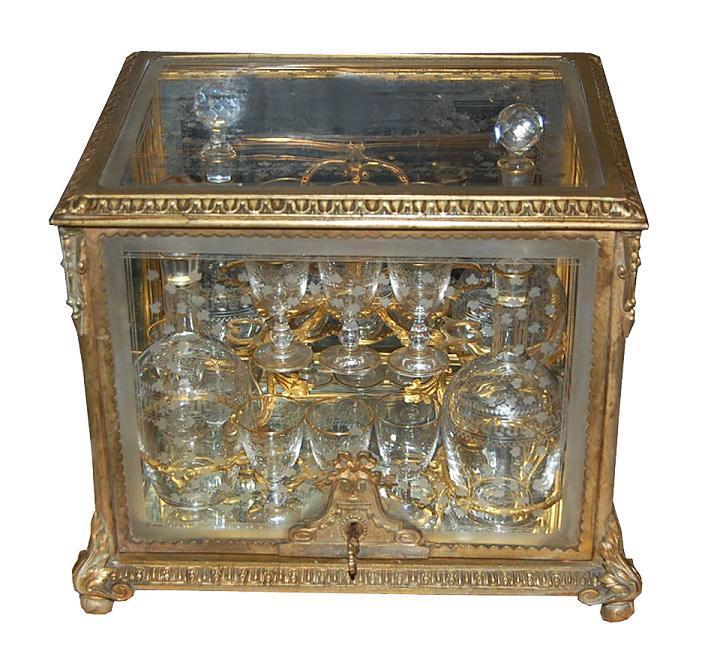 19th Century French Gilt Bronze Tantalus