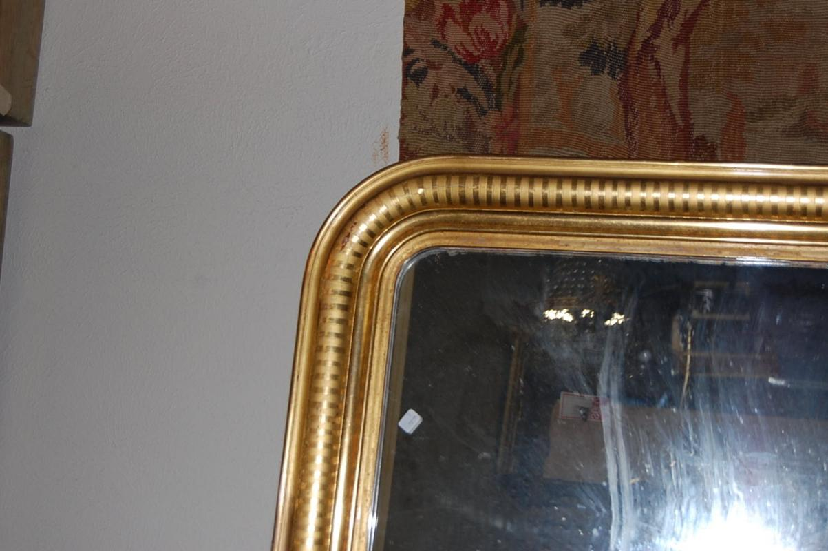 Large French Louis Philippe Mirror