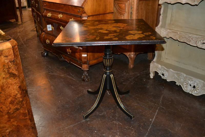 Late Victorian Tilt Top Table