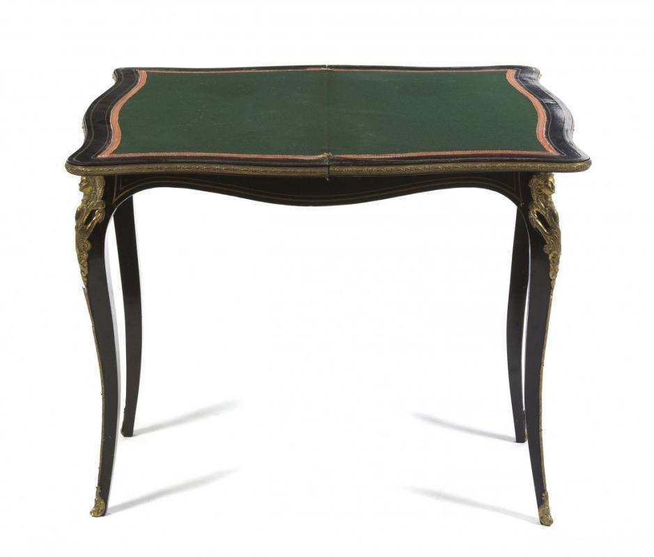 19th Century Napoleon III Game Table
