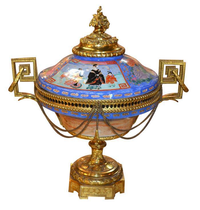 19th Century French Imari Centerpiece