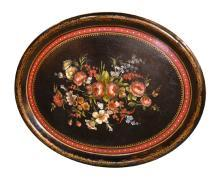 English Papier Mache Tray