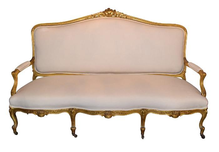 French Louis XV Sofa