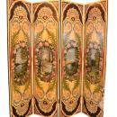 French Painted Screen