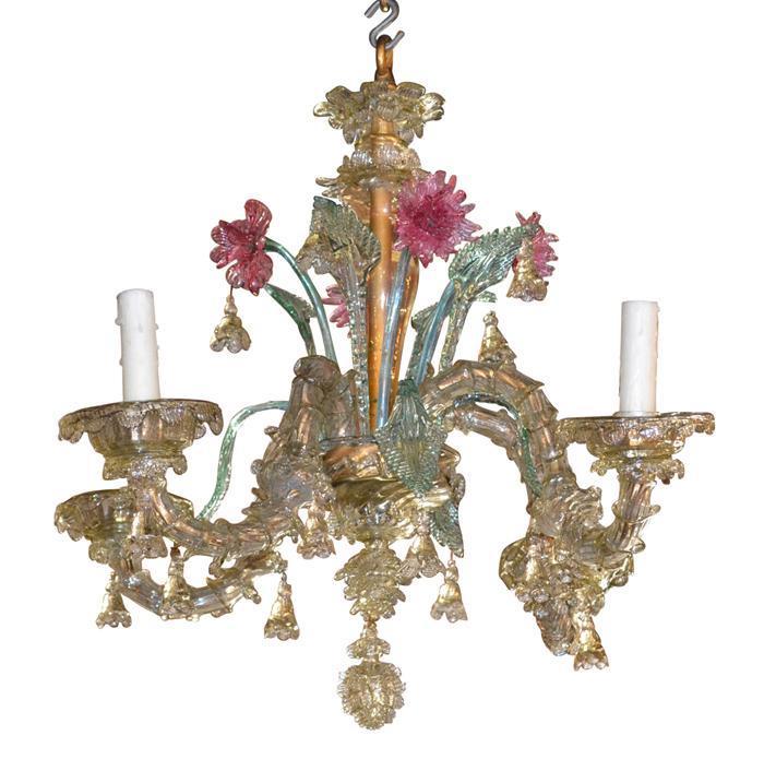 19th Century Venetian Chandelier