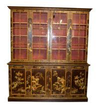 19th Century English Chinoiserie Breakfront