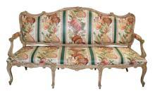 19th Century French Louis XV Settee