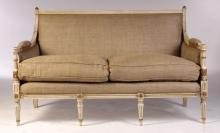 Pair French Louis XVI Sofas