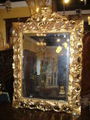 Excellent French Gilded Mirror