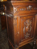 French Carved Cabinet