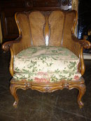 French Walnut Parlor Chairs